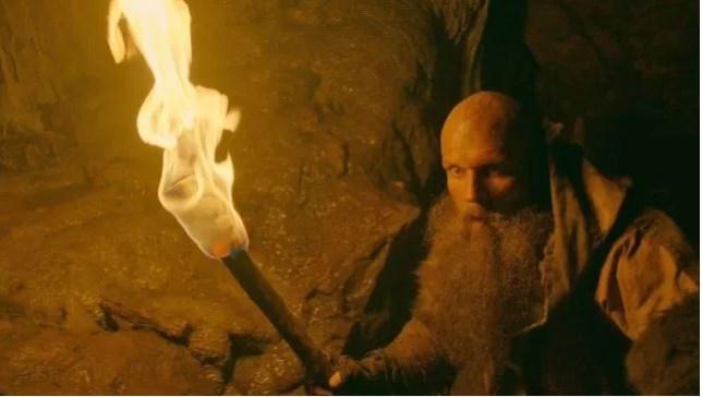 Vikings' Gustaf Skarsgård as Floki