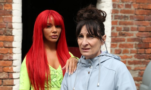 Goldie and Breda in Hollyoaks