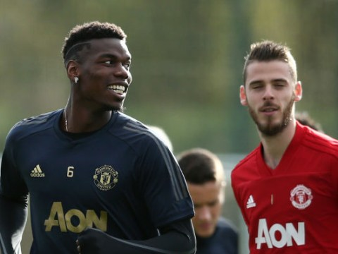 Manchester United suffer double injury blow as Paul Pogba and David De Gea ruled out of Liverpool clash