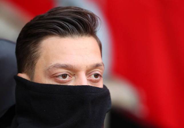 Mesut Ozil starts for Arsenal in their cup clash against Liverpool