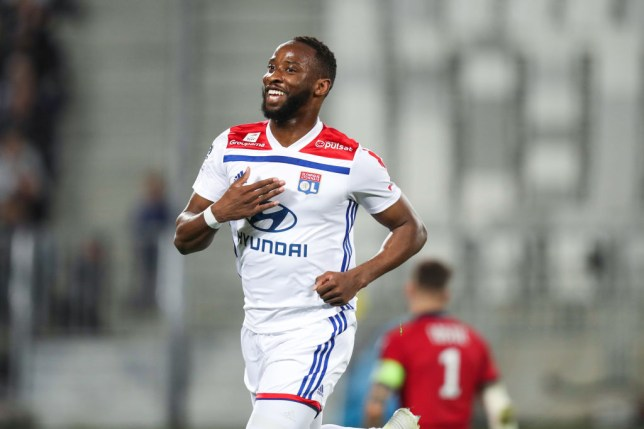 Manchester United are targeting a move for Lyon striker Moussa Dembele