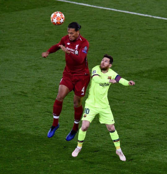 Lionel Messi Reveals Why Liverpool S Virgil Van Dijk Is Difficult To Play Against Metro News