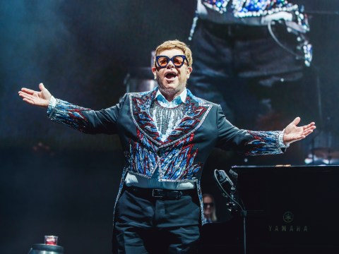 Elton John reckons live shows are like sex as they 'build up to a climax'