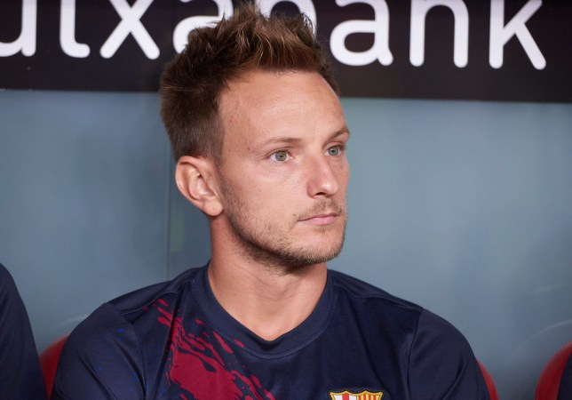 Barcelona midfielder Ivan Rakitic is wanted by Manchester United