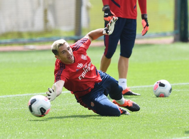 Emiliano Martinez is currently Arsenal's cup goalkeeper but wants Bernd Leno's No.1 shirt