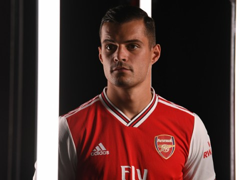 Arsenal stars 'appalled' at treatment of Granit Xhaka from fans and Unai Emery