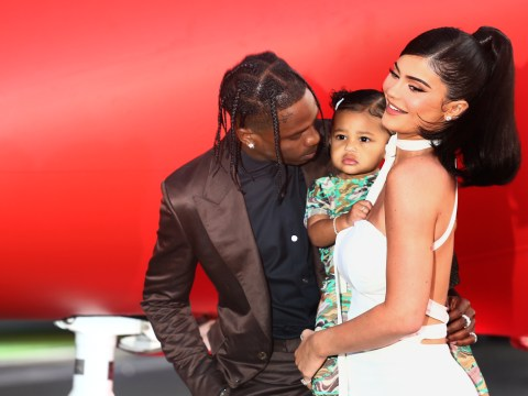 Kylie Jenner and Travis Scott spend Thanksgiving together to make sure daughter Stormi has a 'happy life'