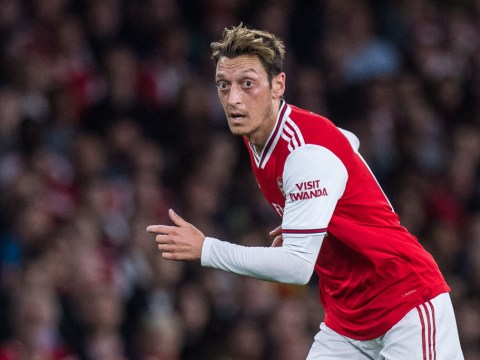 Mesut Ozil hits back at Arsenal legends who have criticised his fitness record