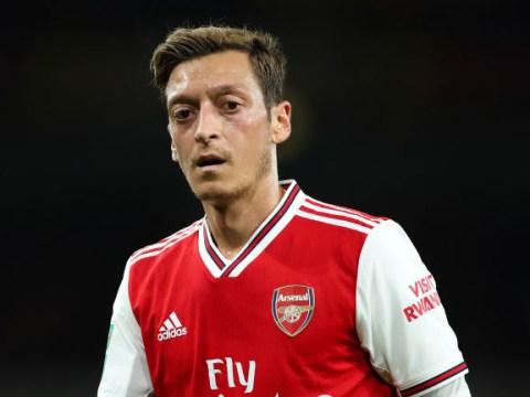 Unai Emery says he's 'really happy' with Mesut Ozil ahead of Sheffield United clash