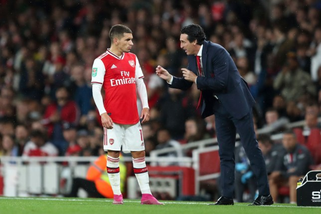 Lucas Torreira has been used as a No.10 by Arsenal manager Unai Emery