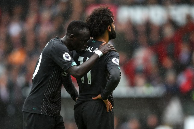 Sadio Mane reveals Mohamed Salah's 'strange reaction' in Liverpool dressing room after row