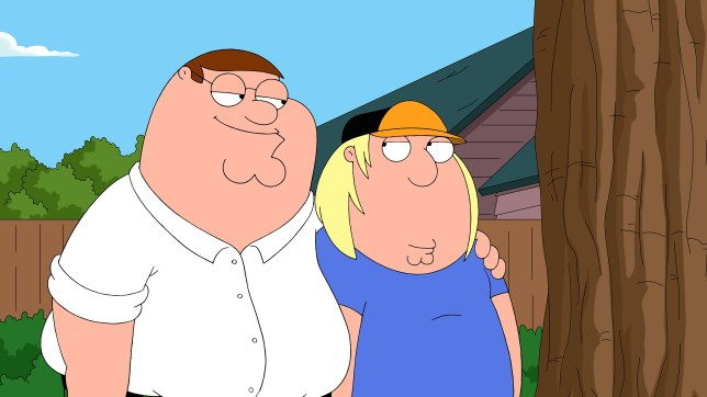 Family Guy's Peter and Chris