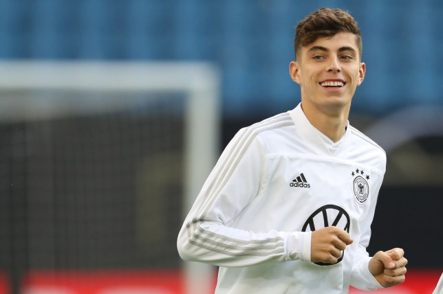 Kai Havertz will consider a departure from Bayer Leverkusen