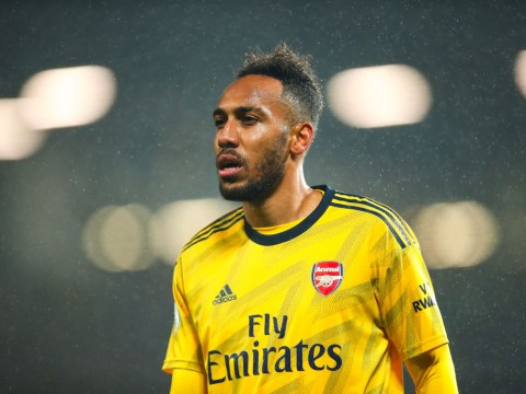 Pierre-Emerick Aubameyang hits back at claims he only joined Arsenal for the money