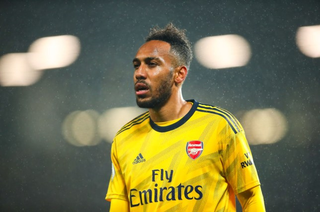 Pierre-Emerick Aubameyang has been in outstanding goalscoring form for Arsenal this season