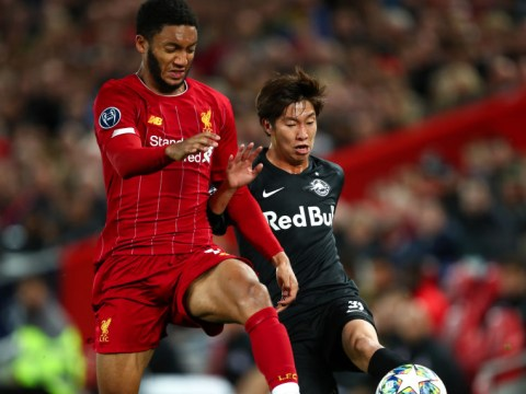 Virgil van Dijk hails Joe Gomez after Liverpool battle to 4-3 victory over RB Salzburg
