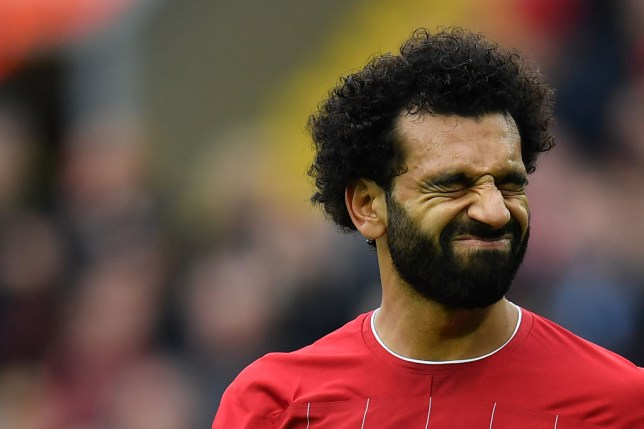 Jurgen Klopp was furious with Hamza Choudhury for the challenge that left Mohamed Salah with an ankle injury