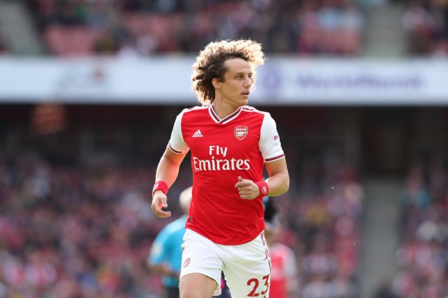 David Luiz scored his first Arsenal goal as Unai Emery's side beat Bournemouth in the Premier League