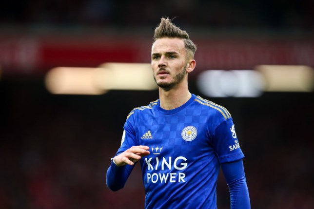 Leicester star James Maddison has been impressed with Chelsea's Jorginho and Tottenham's Harry Winks in the Premier League this season