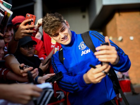 Daniel James reveals text from Ryan Giggs after completing Manchester United transfer
