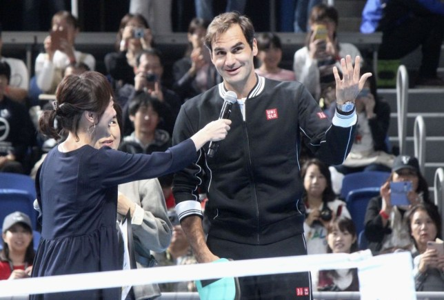 Roger Federer confirmed he will participate at the Tokyo Olympics in 2020 at an exhibition in Japan