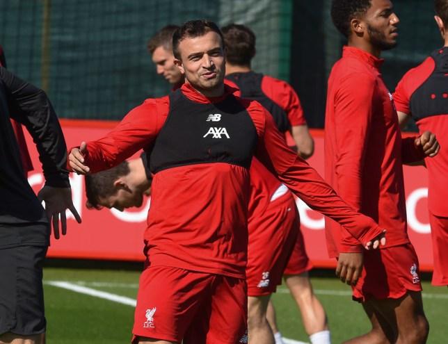 Liverpool Ace Xherdan Shaqiri Admits He S Dissatisfied With Lack Of Game Time Under Jurgen Klopp Metro News