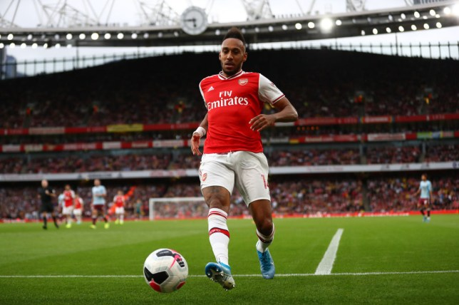 Pierre-Emerick Aubameyang joins elite Arsenal group after winning Premier League Player of the Month Award