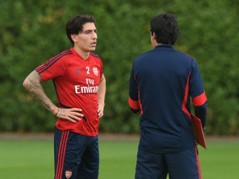 Hector Bellerin insists 'everyone' at Arsenal 'trusts' Unai Emery after frustrating start