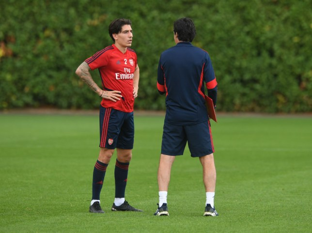 Hector Bellerin has full confidence in Arsenal manager Unai Emery ahead of the side's Premier League clash with Crystal Palace