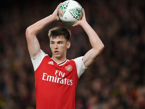 Unai Emery explains Kieran Tierney absence against Manchester United