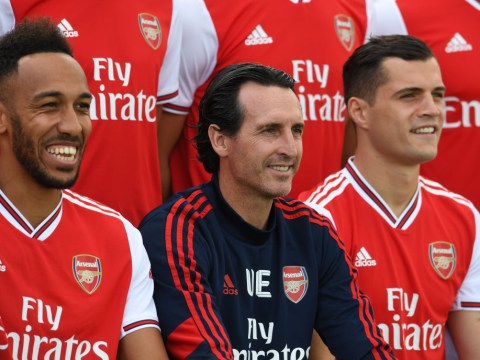 Unai Emery responds to criticism from Arsenal fans over Granit Xhaka captaincy decision