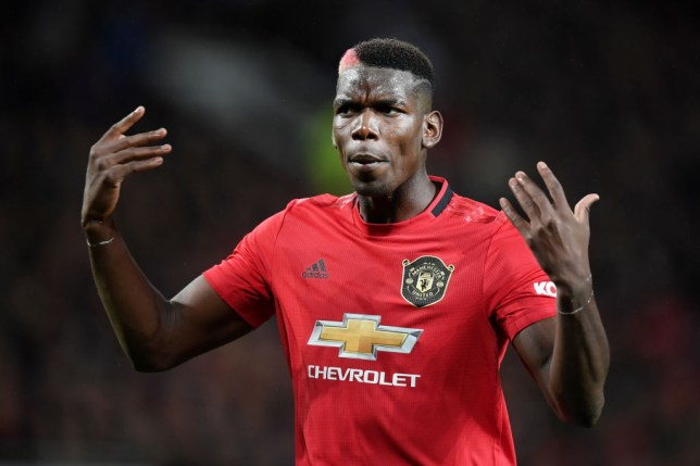 Paul Pogba aggravated an ankle injury during Manchester United's draw with Arsenal in the Premier League