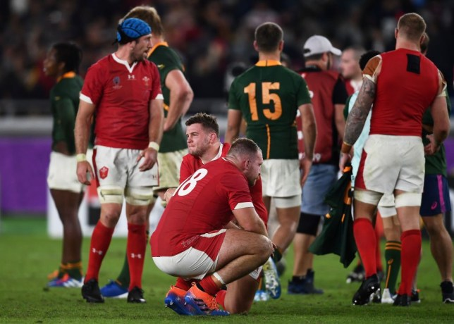 Wales were beaten by South Africa in a scrappy Rugby World Cup semi-final
