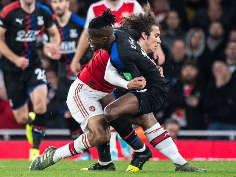 Crystal Palace star Gary Cahill speaks out after Matteo Guendouzi's 'obvious rugby tackle' on Wilfried Zaha
