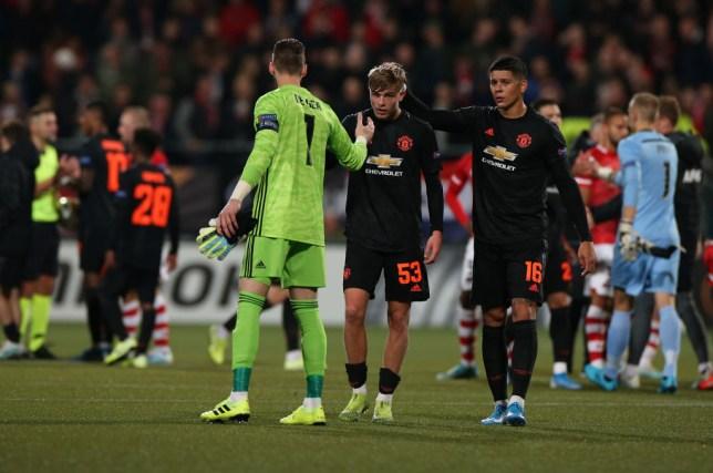 Ole Gunnar Solskjaer praised Manchester United debutant Brandon Williams