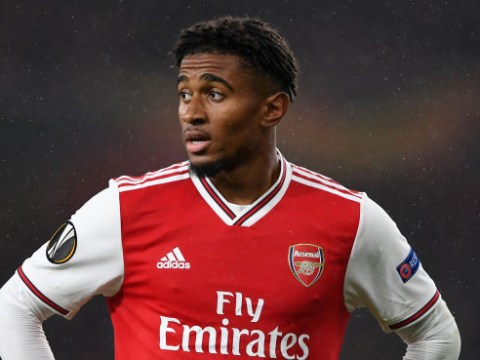 Arsenal issue Reiss Nelson injury update ahead of Europa League clash against Vitoria
