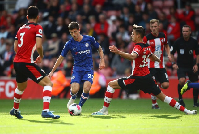 Christian Pulisic has endured a slow start to his career at Chelsea