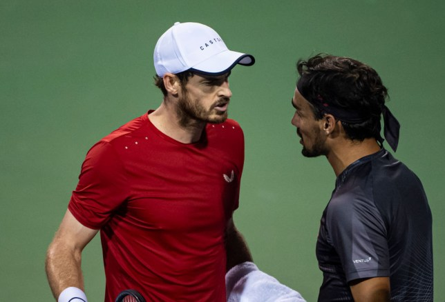 Andy Murray explains why he told Fabio Fognini to 'shut up' in heated on-court row