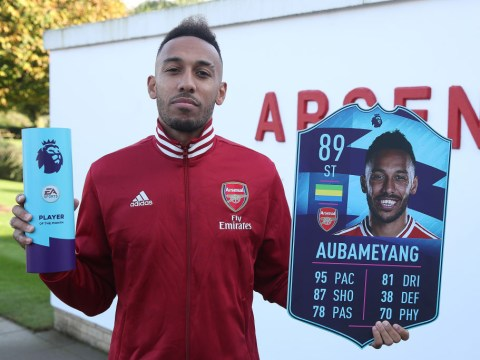 Pierre-Emerick Aubameyang 'sure' Arsenal will secure top-four finish in Premier League