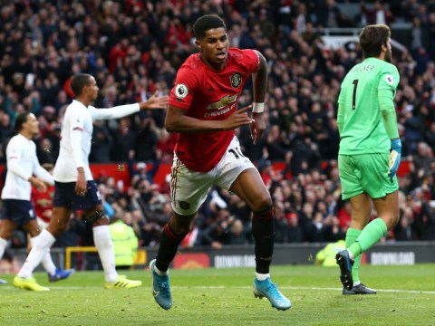 Gary Neville admits Marcus Rashford's goal for Man Utd against Liverpool should not have stood