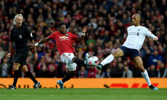 Fred was satisfied with his performance as Manchester United drew with Liverpool in the Premier League