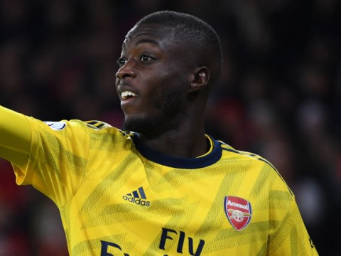 Patrice Evra tells Nicolas Pepe to 'build massive body' in the gym after slow Arsenal start