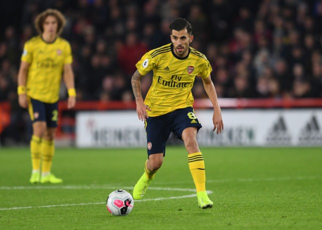 Dani Ceballos came on at half-time as Arsenal lost to Sheffield United in the Premier League