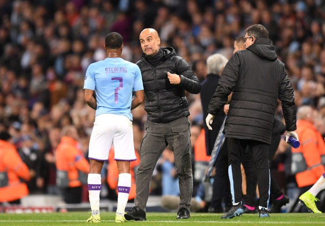 Raheem Sterling should have scored more, says Pep Guardiola after Man City man's hat-trick