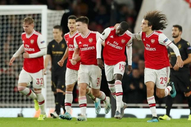 Arsenal guimaraes