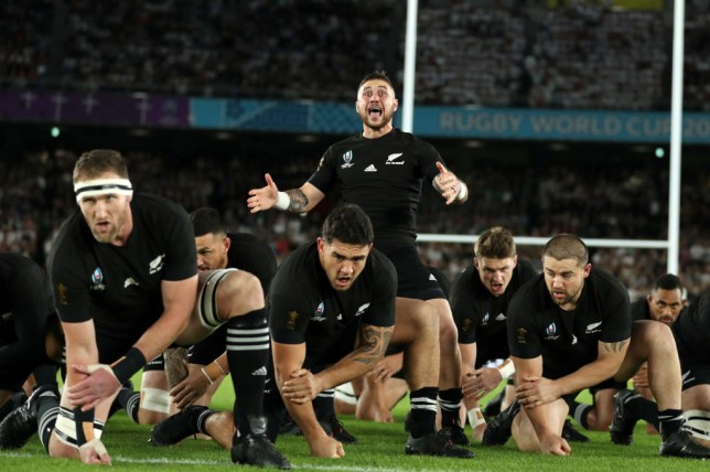 England refused to be intimidated by New Zealand's haka prior to their World Cup semi-final clash