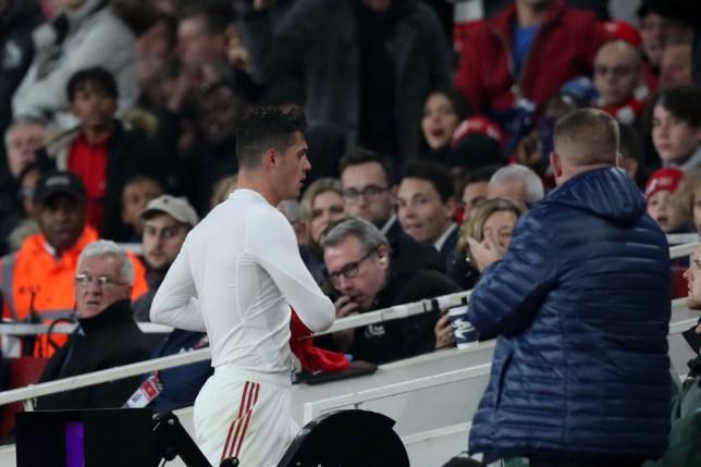Unai Emery hints Granit Xhaka is ready to make his Arsenal comeback against Southampton