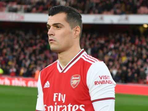 Arsenal boss Unai Emery confirms Granit Xhaka not in his plans for Wolves match