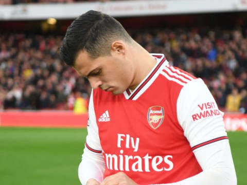 Emmanuel Petit calls on Unai Emery to remove Granit Xhaka as Arsenal captain after Crystal Palace outburst