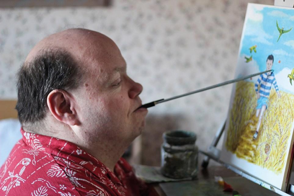 Ian Parker painting